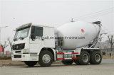 Carro del mezclador concreto de la capacidad de la marca de fábrica 6-16m3 de China HOWO