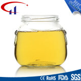 frasco de vidro sem chumbo do mel da classe 345ml primeiro (CHJ8083)