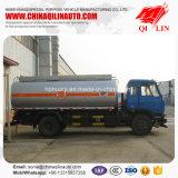 Camion-citerne aspirateur facultatif de combustible dérivé du pétrole de couleur avec 4 couches de peinture