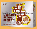 Café vert de perte de poids du café 360 d'enzymes de L-Carnitine