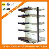 Las unidades de estantes de metal Supermercado Mostrar estante y estante de la pantalla de supermercados