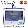개인적인 주문을 받아서 만들어진 3D 인쇄 기계 또는 Bibo 금속 프레임 3D 인쇄 기계 인쇄 유연한 필라멘트