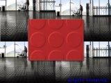 Het slijtvaste RubberBlad van het Blad van het Blad Kleurrijke Industriële Rubber anti-Schurende Rubber
