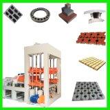 Máquina de fabricación de ladrillo concreta automática Qt4-20