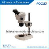 0.68x-4.6X zoom microscopio estéreo con precio competitivo