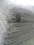 Gabionsの純金網のGarbionsの電流を通された石造りのケージ