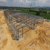 Costruzioni prefabbricate strutturali d'acciaio chiare del magazzino di alta qualità e di basso costo