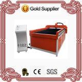 Máquina de estaca inoxidável de alumínio de aço do plasma do metal barato do pórtico do CNC do chinês