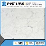 Cor de mármore branco pedra de quartzo Artificial fornecedores para cozinha bancadas de quartzo