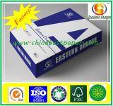 Carta per copie della pasta di cellulosa A4 di alta qualità di 100% 80GSM