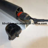 Sensor de borda de segurança de borracha para porta giratória e rotativa automática
