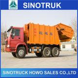 2015年ごみ収集車、Sinotruk HOWO 6X4のコンパクターのごみ収集車の