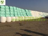Couleur verte 750X1500X25um d'extension de film agricole d'enveloppe pour le marché de la Pologne