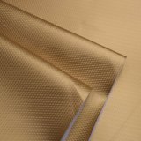 水晶表面の合成物質PU袋の革織り目加工の装飾的な革