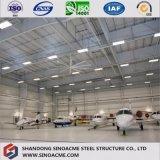 De geprefabriceerde Bouw van de Hanger van de Structuur van het Staal voor Vliegtuigen