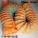 Dutos de ar da ventilação de mineração do PVC para o túnel