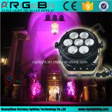 高い発電LEDの同価64 7X25W Rgbwy 5in1屋外ライト
