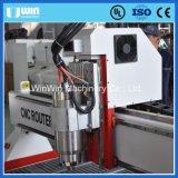 Automatische schnitzende Ausschnitt-hölzerne Tür-Entwurf CNC-Fräser-Maschine 1530