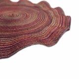 Welle Polyester gesponnenes Placemat für Tischplatte