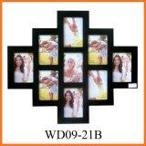 Деревянная рамка для фотографий в виде коллажа (WD09-21B)