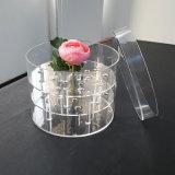 Caja de embalaje del plexiglás superior hecho a mano del gradiente del 100%