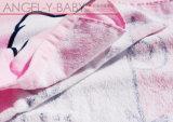 Peignoir en coton bébé phoque à capuchon