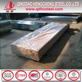 Feuille de toit en acier galvanisé/gi tôle de toit de fer/feuille de carton ondulé