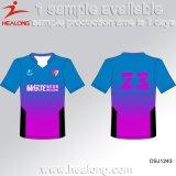 Healongの上の販売のチーム摩耗のパーソナリティー昇華印刷のTシャツ