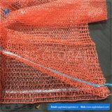 Kundenspezifische PET 25kg Raschel Säcke für verpackenkartoffeln