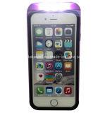 Cas de luxe en gros de téléphone de lumière du cas LED Selfie de téléphone portable de la Chine pour le cas lumineux de couverture de téléphone de l'iPhone 6 de l'iPhone 5