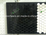 Черная мраморный мозаика прокладки