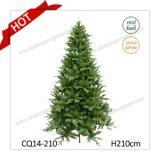 Ноги H7 продают искусственной Handmade смешанную пластмассой рождественскую елку оптом листьев