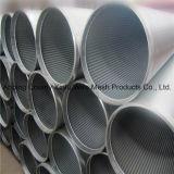 tubo cilindrico dello schermo dell'acciaio inossidabile 316L/in profondità di acqua di Wel/filtro da acqua