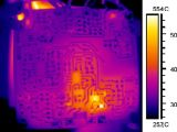 Камера восходящего потока теплого воздуха IP температуры наблюдения PTZ блока развертки обеспеченностью