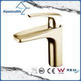 現代真鍮のヨーロッパの単一のHangleの浴室の流しのコック(AF0464-6C)