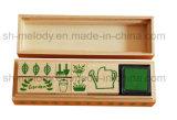 DIY decoración Artesanía jardín sello de madera Kit / Caucho Sello