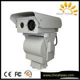 Câmera da imagiologia térmica do alarme de Intellengent dos pontos quentes da segurança de PTZ