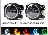 4 Polegada 30W luz de nevoeiro LED carro redondo para Jeep Wrangler