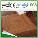 中間の浮き出しの寄木細工の床のホーム装飾Vのバックルによって薄板にされるフロアーリング