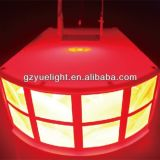 Лучшая цена светодиодный индикатор оболочки LED эффект DJ фонарь