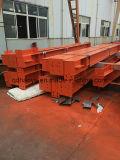Viga de la autógena H del material de construcción de la estructura de acero