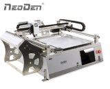 Cadena de producción de SMT Neoden3V, impresora de la plantilla, horno del flujo