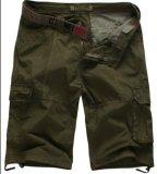 Los hombres de la moda de verano Qullity Alto Cargo Shorts