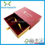 Boîte-cadeau de luxe faite sur commande d'invitation de mariage de papier