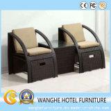 Mobilia del rattan di svago utilizzata mobilia del salone da vendere