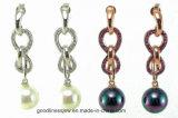 숙녀를 위한 E6116 Pearl Style Earring, 형식 & 최신 판매 보석 숙녀