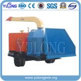 Giacimenti standard del CE mobile sfibratore di legno di 50 - di 40 Tph con il motore diesel