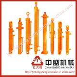 Cilindro hidráulico para la máquina de la construcción, rafadora, carro