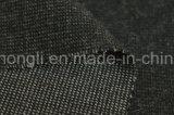El hilado teñió la tela polivinílica/de rayón, sola tela aplicada con brocha echada a un lado, 240GSM