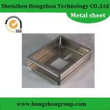 Precision Fabricación de metal de doblez de acero de hoja Q235